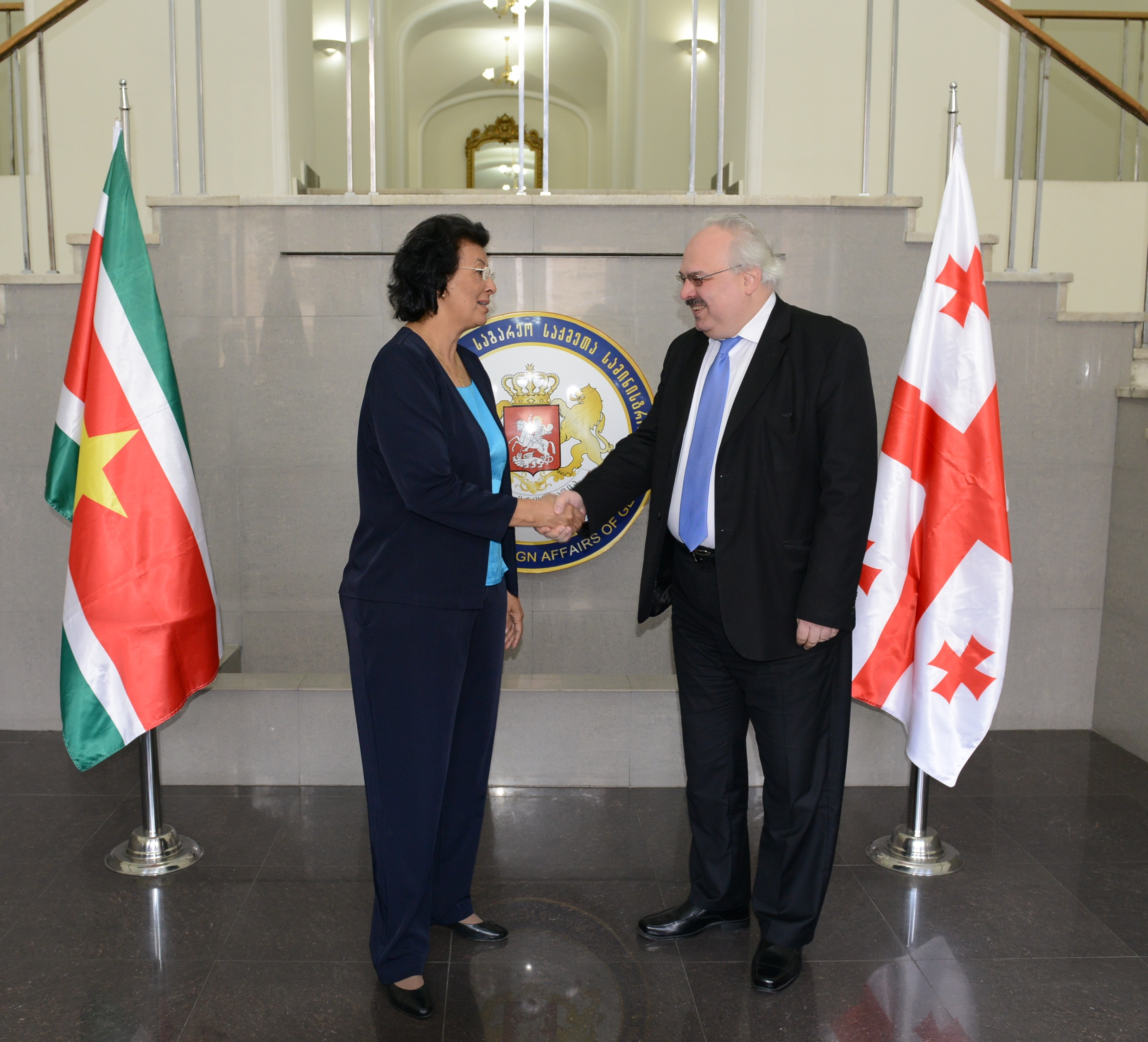 Ontmoeting Met Deputy Minister Of Foreign Affairs Of Georgia David Jalaghania1